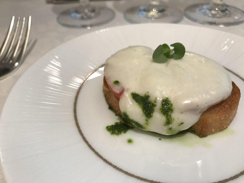 ソムリエの田崎真也さんがブラータチーズをご紹介!
